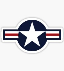USA Air Force Logo Sticker
