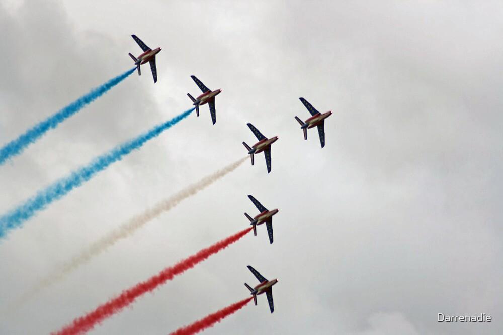 Patrouille de France Display Team. by Darrenadie
