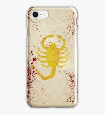 The Driver's jacket (Drive - Blood Variant) iPhone Case/Skin