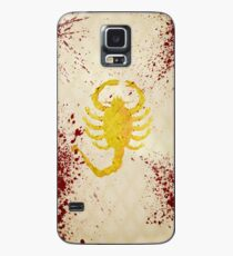 The Driver's jacket (Drive - Blood Variant) Case/Skin for Samsung Galaxy