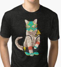 El Gato Asesino Tri-blend T-Shirt