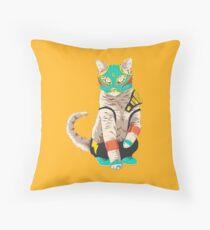 El Gato Asesino Throw Pillow