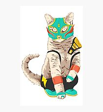 El Gato Asesino Photographic Print