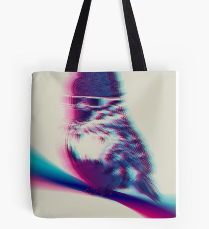 Bird Hair Day Tote Bag