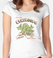 Cthuloops (Original)  Women's Fitted Scoop T-Shirt