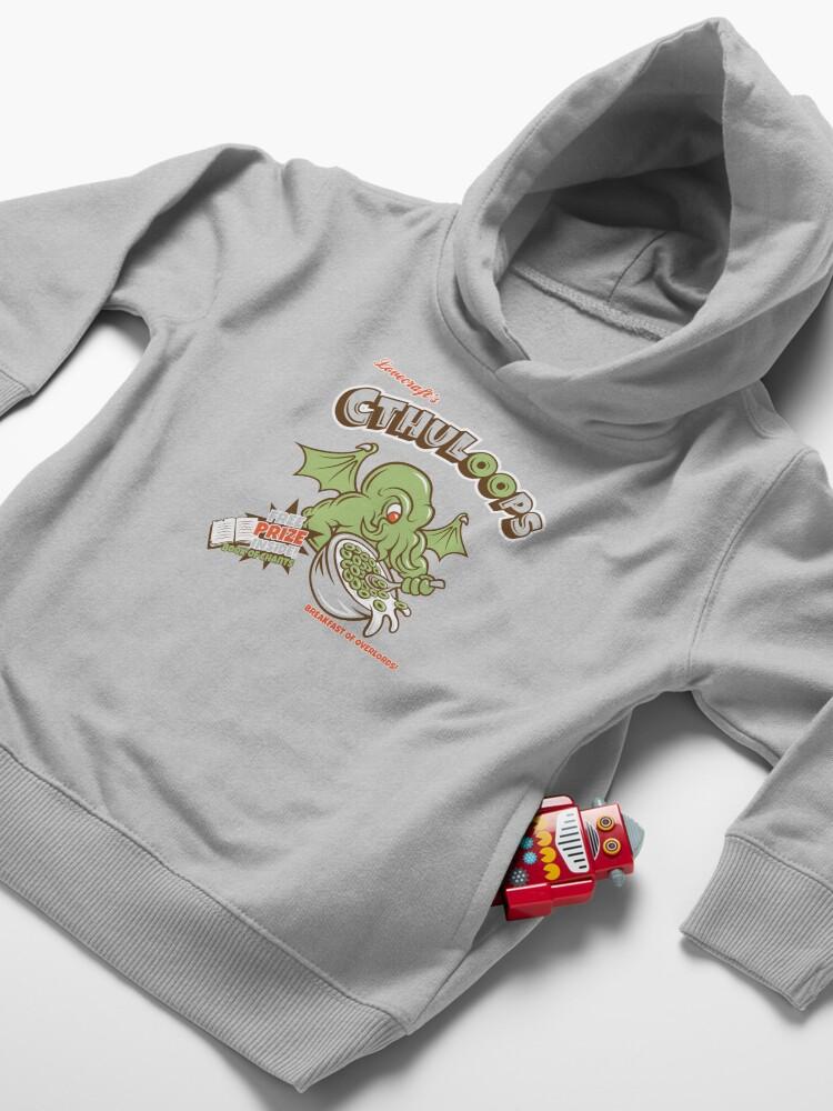Alternate view of Cthuloops (Original)  Toddler Pullover Hoodie