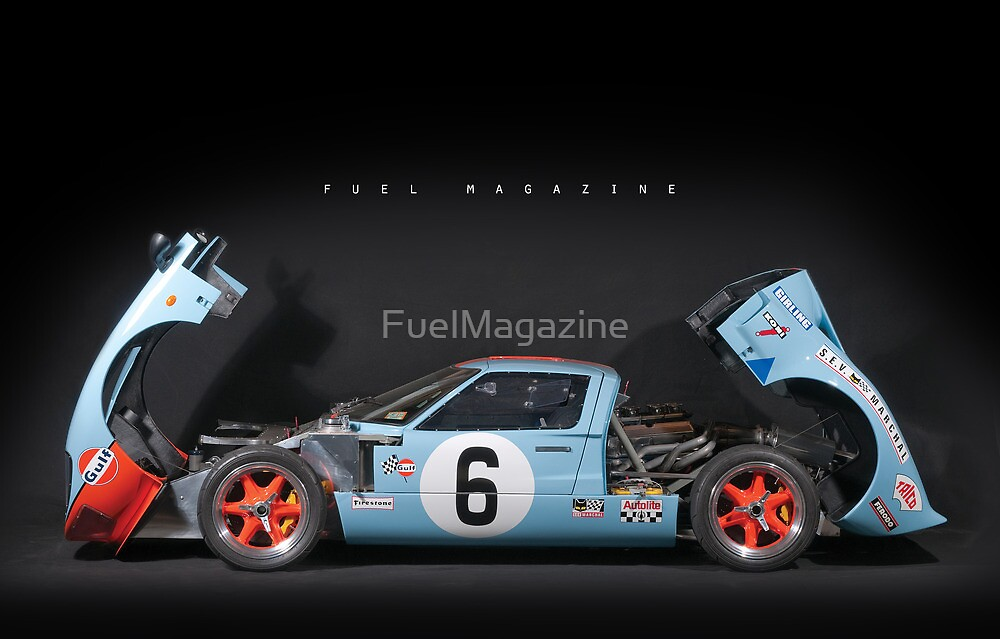 GT40 Race Replica by FuelMagazine