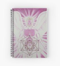 Archangel Metatron Spiral Notebook