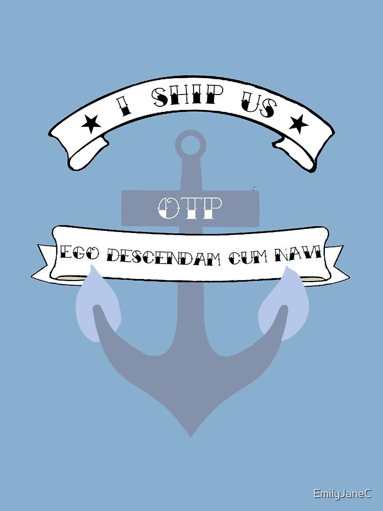 I Ship Us by EmilyJaneC