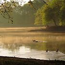 Morning on the River by Veronica Schultz