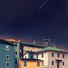 Castles at Night von schwebewesen