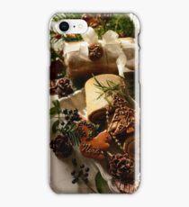 Noël dans la forêt iPhone Case/Skin