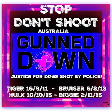STOP Don't Shoot  - Australia by justice4mary