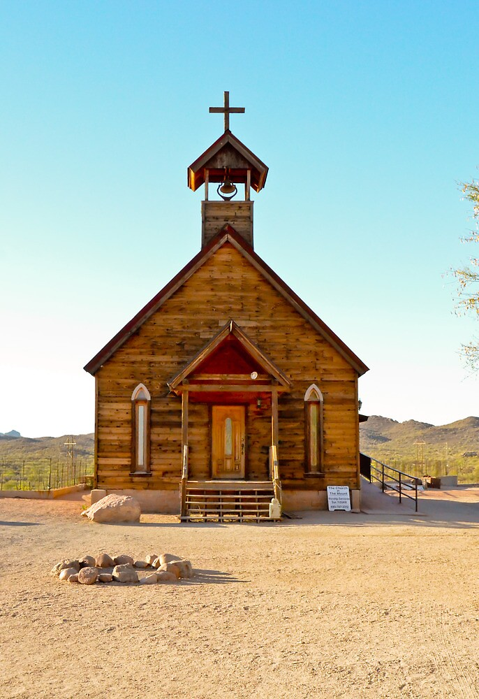 God's Outpost in Cowboy Country by Elina  Cate
