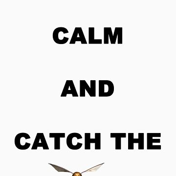 keep calm and catch the snitch by able56