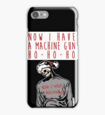 Ho-Ho-Ho Die Hard Christmas iPhone Case/Skin