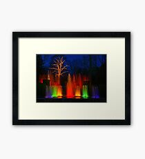 The Colors of Christmas Framed Print