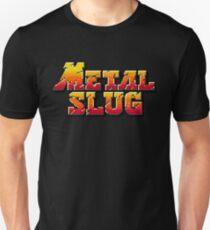 Metal Slug - Neo Geo Title Screen Unisex T-Shirt