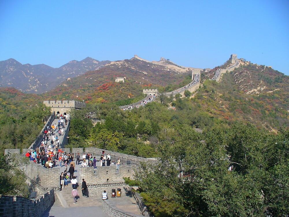 Great Wall in the Fall by msayuri