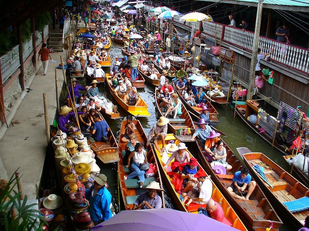 Floating markets by msayuri