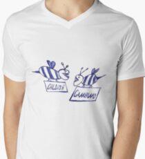 Community Gambino (white) Men's V-Neck T-Shirt