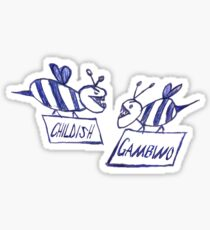 Community Gambino (white) Sticker