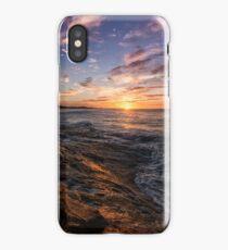 Winter on Cylinder Beach iPhone Case/Skin