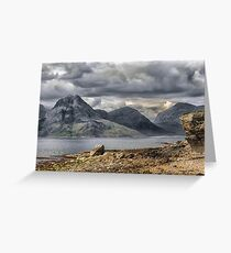 Elgol Isle of Skye Greeting Card