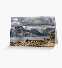 Elgol Isle of Skye Greeting Card