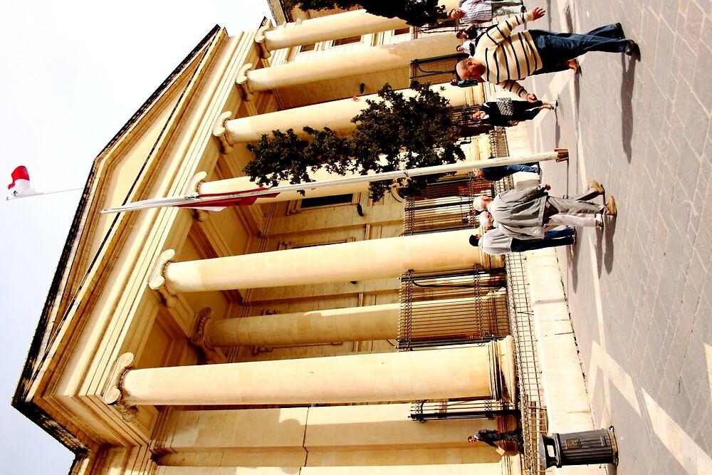 Law Courts - Valletta Malta by DRDJ