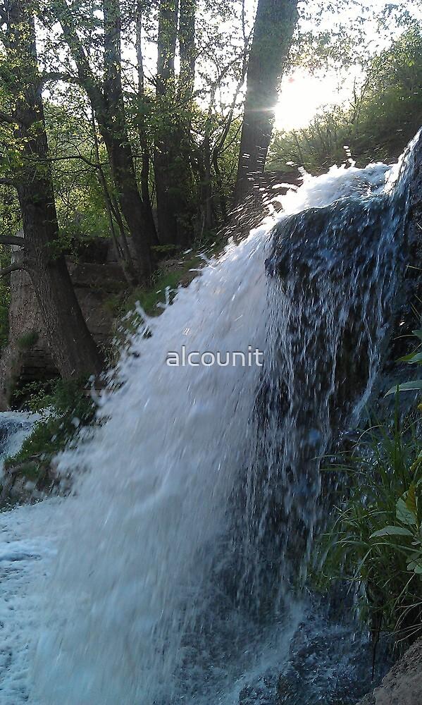 Dzhurinsky waterfall by alcounit