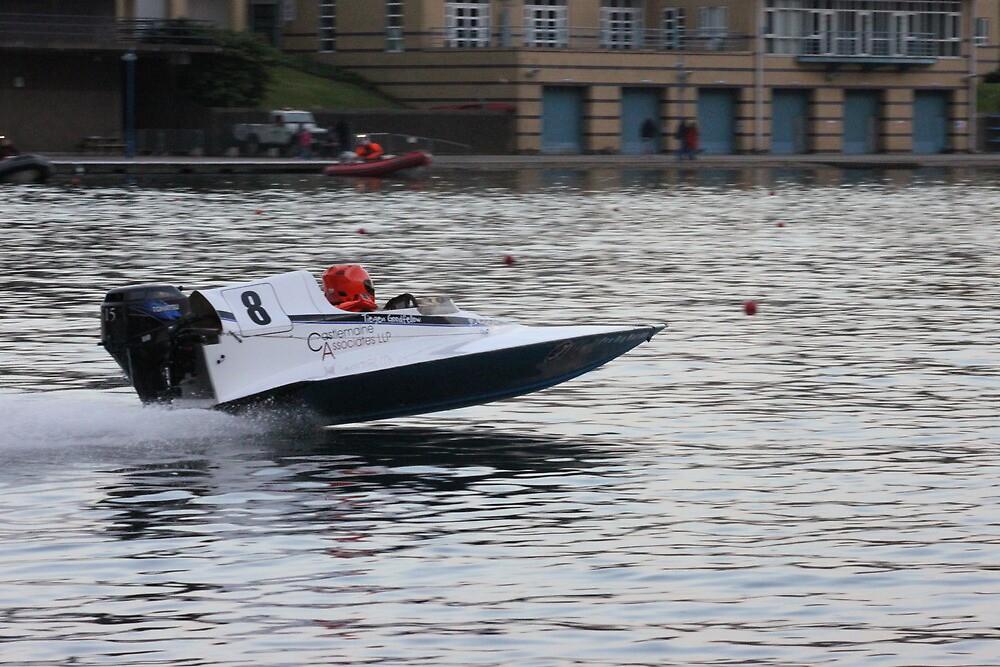 Speed boat racing by DRDJ