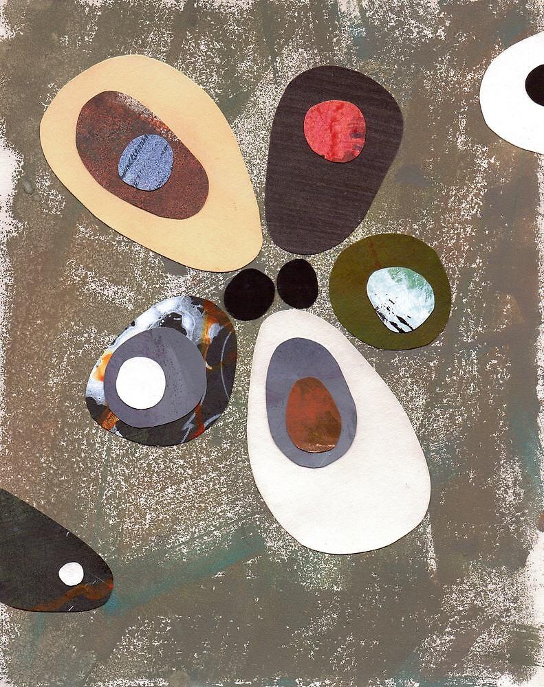 Eames era mid century design abstract by bearoberts