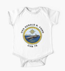 USS Gerald R. Ford (CVN-78) Crest Kids Clothes