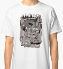 Boy from the sewer with snakes for eyes Classic T-Shirt