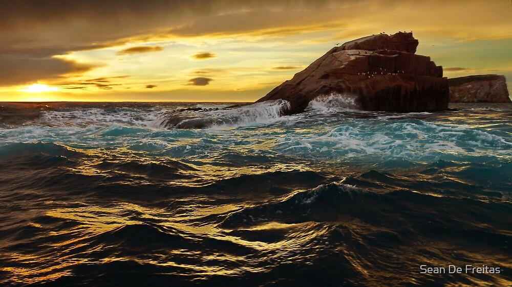 Little Hippolite Rock, Eagle Hawk Neck, Tasmania by PC1134
