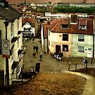 Whitby from the 199 steps by Brian Tarr