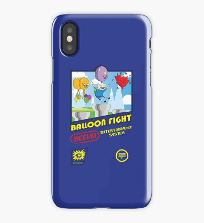 Adventure in Balloon Fighting iPhone Case