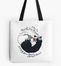 I be a Cat Tote Bag
