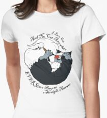 I be a Cat Women's Fitted T-Shirt