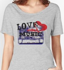 Vintage Love oldies music #3 Women's Relaxed Fit T-Shirt