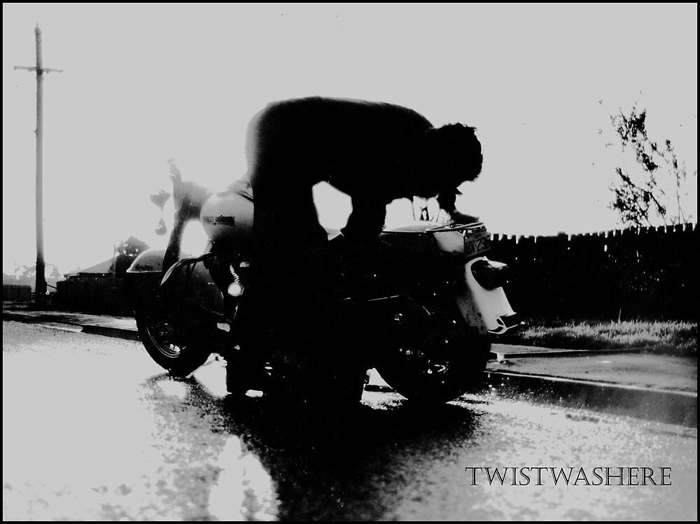 sunday white wash by twistwashere