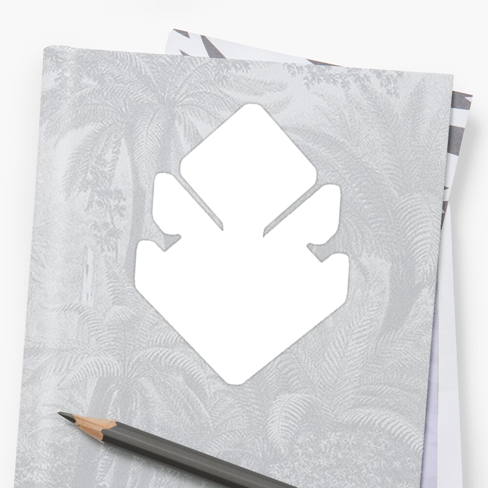 quotsmallville doomsday symbolquot stickers by saberfiretiger