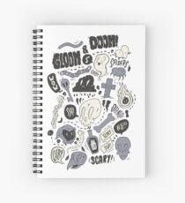 Doom & Gloom Alternative Spiral Notebook