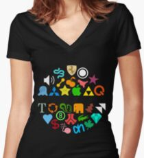 XTC Shirt (2012 Edition) Women's Fitted V-Neck T-Shirt