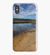 The Shores of Brown Lake iPhone Case/Skin