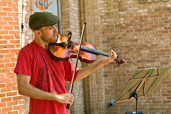 Fiddler by Thaddeus Zajdowicz
