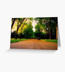 Kensington Gardens  Greeting Card