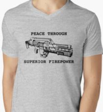 Peace Through Superior Firepower T-Shirt