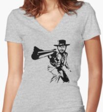 Dirty Blondie Women's Fitted V-Neck T-Shirt